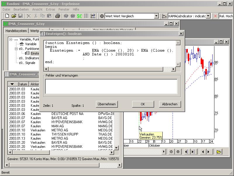 Screenshot vom Programm: Eusdoni